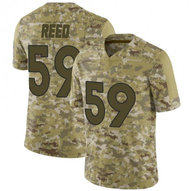 Men's Nike Denver Broncos Malik Reed 2018 Salute to Service Jersey - Camo Limited