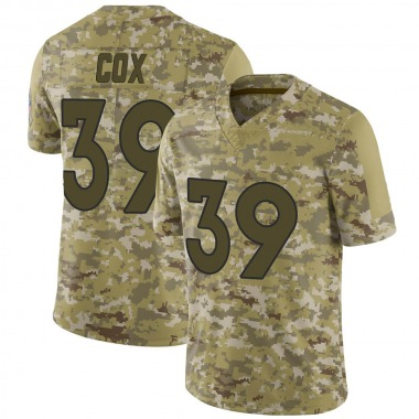Youth Nike Denver Broncos Jeremy Cox 2018 Salute to Service Jersey - Camo Limited