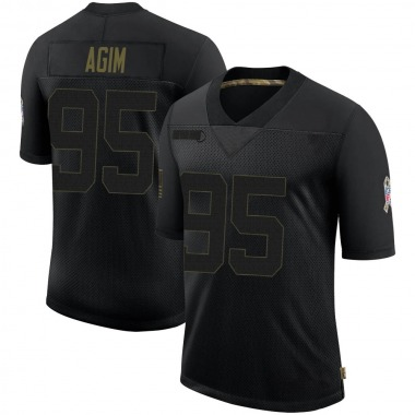 Youth Nike Denver Broncos McTelvin Agim 2020 Salute To Service Jersey - Black Limited